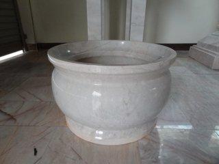 กระถางธูป หินอ่อน กว้าง 30 เซนติเมตร