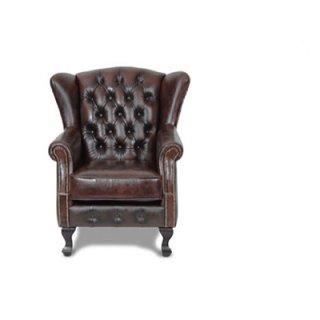 เก้าอี้โซฟาหนังสไตล์วินเทจ ABERDEEN
