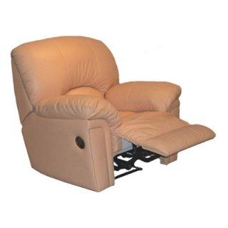 เก้าอี้โซฟาหนังแท้ปรับเอนนอน KING CROSS
