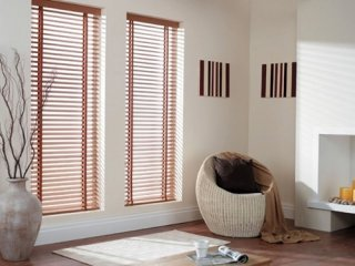 Wooden Blinds and Aluminium Blinds