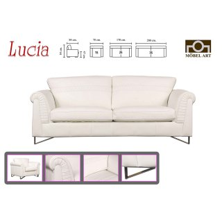 โซฟาหนังแท้ LUCIA