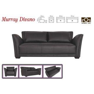 โซฟาหนังแท้ MURRAY DIVANO