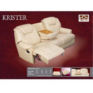 เก้าอีโซฟาหนังแท้ KRISTER