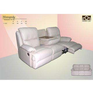เก้าอีโซฟาหนังแท้ MONOPOLY