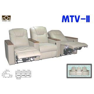 เก้าอี้โซฟาหนังแท้ MTV-II