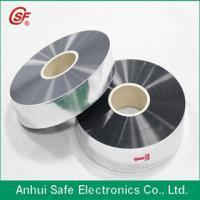 metallized polyethylene film for capacitor use