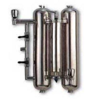 เครื่องกรองน้ำ 3 ท่อ สแตนเลส