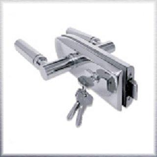 Glass Shower Door Lock with Key Lock