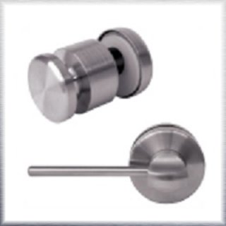 Glass Shower Door Lock with Straight Stick