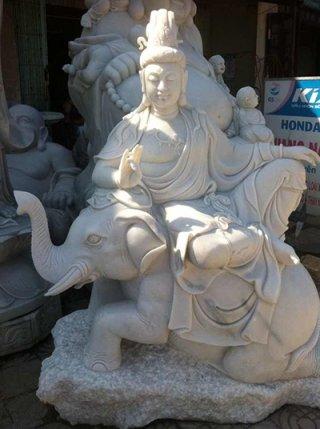 เจ้าแม่กวนอิม ประทับช้าง ขนาด สูง 120 ซม.