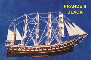 เรือ FRANCE II BLACK จำลอง