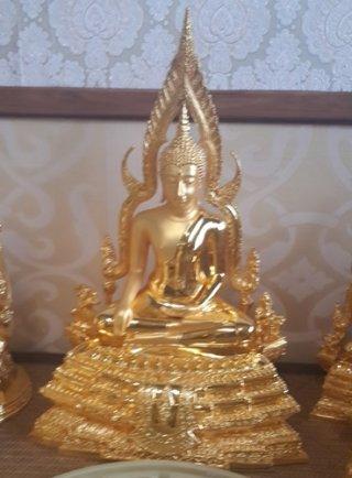 พระพุทธชินราชหน้าตัก 9 นิ้ว สูง 50 ซม.