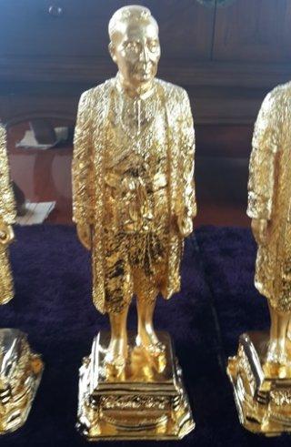 รูปหล่อทองเหลืองรัชกาลที่ 1 สูง 50 ซม.