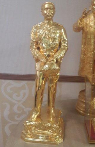 รูปหล่อทองเหลืองเสด็จพ่อ ร.5 สูง 50 ซม.