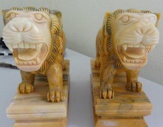 สิงโต เสริมฮวงจุ้ย สูง 10 ซม. กว้าง 20 ซม.