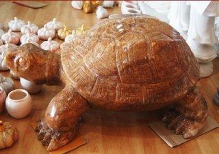 เต่า หินอ่อน ขนาด สูง 30 ซม. กว้าง 70 ซม.