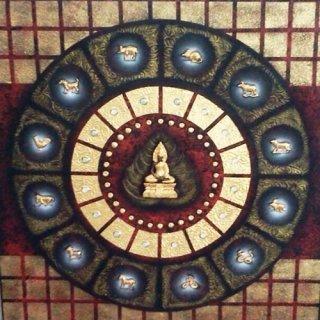 ภาพวาดพระพุทธ 12 ราศรี