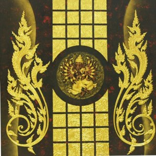 ภาพวาดพระพิฆเนศวร 16 กร