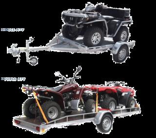 ชุดลากรถ ATV