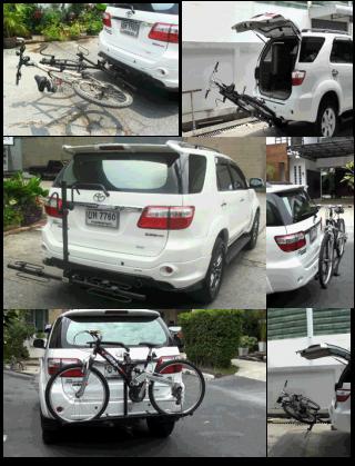 แร็คจักรยานท้ายรถ