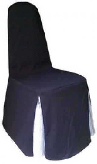 ผ้าคลุมเก้าอี้ทวิชมุม 2 มุม สลับสี