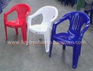 เก้าอี้พลาสติก มีที่ท้าวแขน