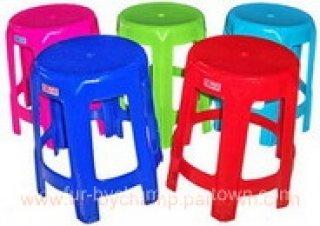 เก้าอี้พลาสติกหัวโล้น 6 ขา