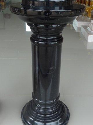 เสาโชว์ สีดำเข้ม ขนาดสูง 60 ซม. กว้าง 20 ซม.