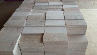 หินอ่อนแผ่น ชมพูพรานกระต่าย ขนาด 15 x 30 ซม.