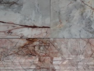 หินอ่อนแผ่น เทาลายแดง
