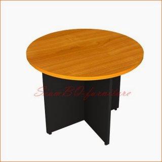 โต๊ะประชุมเมลามีน ทรงกลม