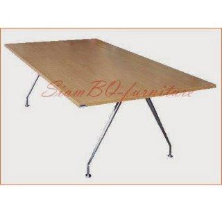 โต๊ะประชุมเมลามีน ขาชุบโครมเมี่ยม