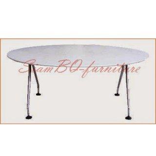 โต๊ะประชุมเมลามีน ทรงวงรี
