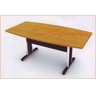 โต๊ะประชุมชุบโครมเมี่ยมรูปตัว T