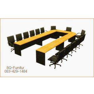 โต๊ะประชุมเมลามีน ทรงรูปตัวยู