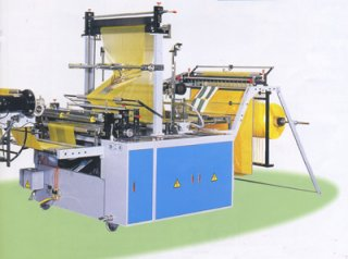 Perforating Coreless Bag On Roll Machine