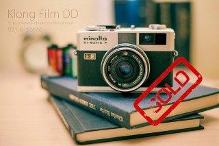 กล้องฟิล์ม Minolta Hi-Matic F