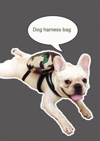Bangkok dog harness bag