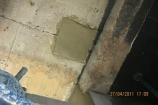 งานซ่อมพื้นคอนกรีตที่เสียหาย