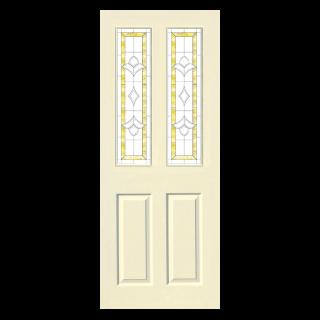 ประตูภายใน HDF บานกระจกซิลค์สกรีน