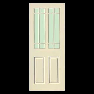 ประตูภายใน HDF บานกระจก-WPC