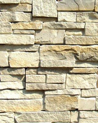 หินตกแต่ง PVN สีครีมอ่อน