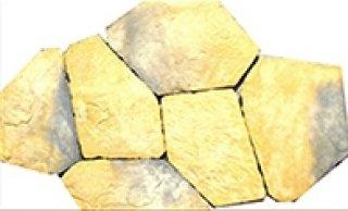 หินตกแต่ง PVK โทนเหลือง