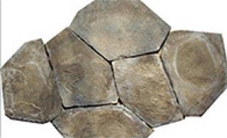 หินตกแต่ง PVK โทนเทาดำ