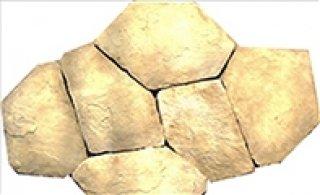 หินตกแต่ง PVK โทนเหลืองอ่อน