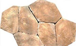 หินตกแต่ง PVK สีอิฐ