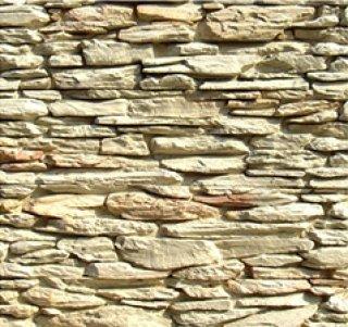 หินตกแต่ง PVD สีขาวครีม