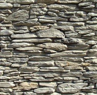 หินตกแต่ง PVD สีเทา