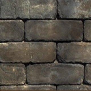 หินตกแต่ง PVB สีดำเขม่า