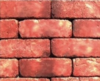 หินตกแต่ง PVB สีแดงอิฐ